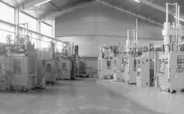 Des machines à injection pour le moulage bannière