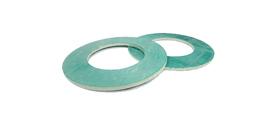 rondelle métallique turquoise