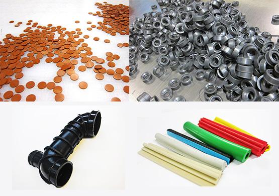 Des pièces pour différents secteurs